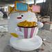 廣州吉祥公仔雕塑玻璃鋼卡通雕塑
