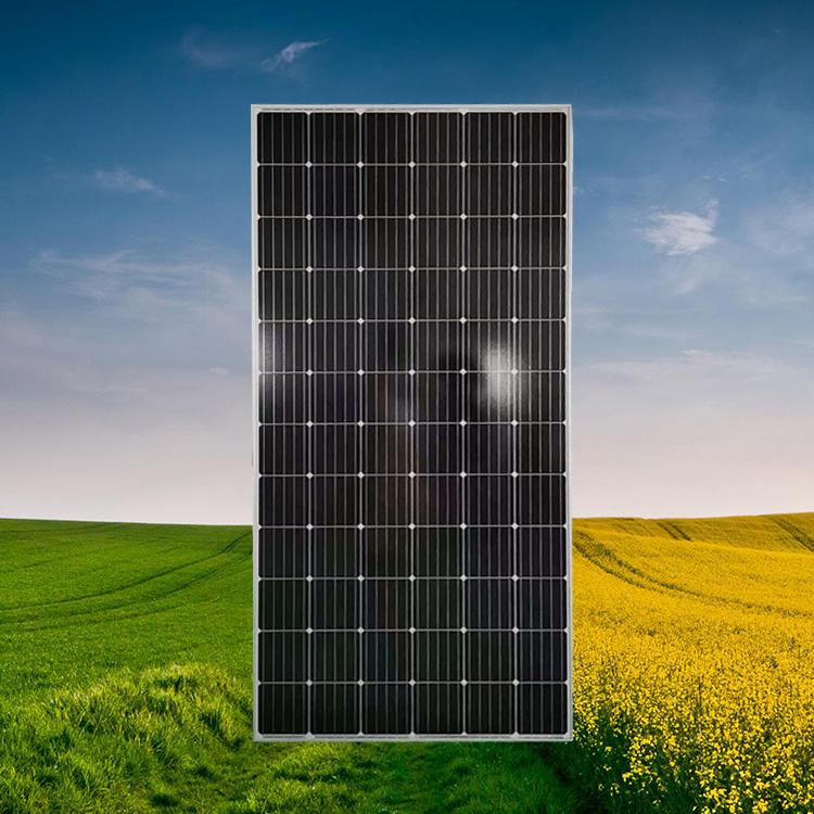广东晶天太阳能电池组件学校100KW光伏系统320W光伏板