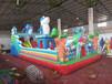 吉林白城戶外經營充氣滑梯蹦蹦床大型游樂設備生產廠商