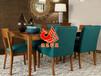 地中海风格餐桌椅图片,高级酒店套房餐厅家具,休闲餐饮桌椅款式