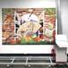便攜墻體彩繪機3d打印機5d立體智能壁畫彩繪機高精度文化墻噴繪機