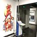 領晟5D墻繪打印機墻體彩繪機噴繪一體機客廳墻面繪畫機自動繪畫