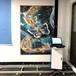 墻體彩繪機3d立體戶外大型廣告壁畫打印機智能5d背景墻面噴繪機