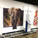 便攜墻體彩繪機8d繪畫設備戶外新農村墻面繪畫機廣告3d立體立式