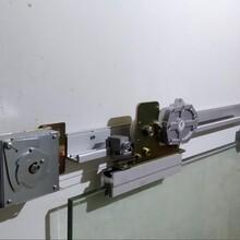 廚房廁所陽臺隔斷半自動平移門閉門器手動推開自動關門圖片