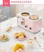 智能多功能早餐機對流烘烤機械式多士爐四合一家用煎烤煮蒸煮面鍋