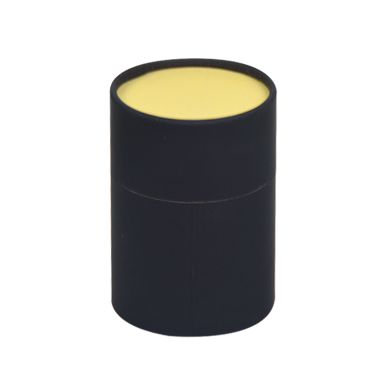 YB120303厂家定做茶叶纸罐精油礼品盒纸筒圆筒礼盒