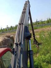 出售二手貴州詹陽40噸抓鋼機