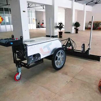 大型四轮混凝土激光整平机无人驾驶自动找平机两轮价格
