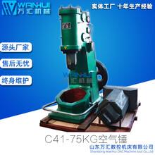 75KG铁匠空气锤气动打铁机脚踏锤空气锤图片