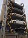 東莞機械停車設備出租出售-兩層升降橫移式租賃