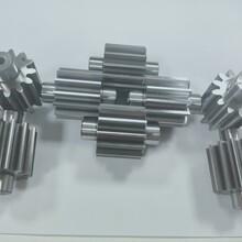 滲碳材質加工小齒輪精密太陽齒輪軸東莞德日設備生產齒輪圖片