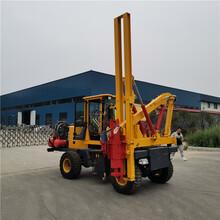 西藏二手護欄打樁機直銷圖片