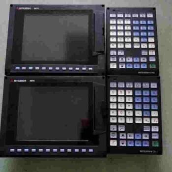 新乡三菱M70系统开机黑屏维修