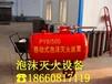 常州金坛PY8/300移动式泡沫灭火装置