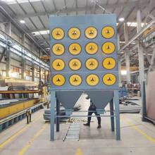 內蒙古機組空氣過濾濾筒除塵器價格,濾筒除塵設備