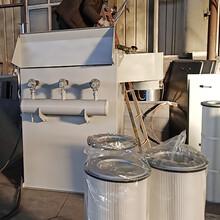 四川切割機濾筒除塵器生產廠家,濾筒除塵設備