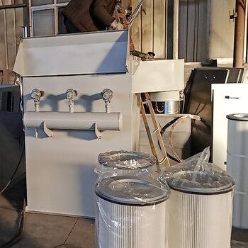 利斧環保濾芯除塵器,泊頭40000風量濾筒除塵器價格