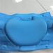 來圖定制運動減震護具泡綿冷熱壓加工eva海綿護具壓模記憶棉