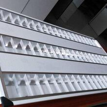 LED3管格栅灯盘带网孔格栅灯盘图片