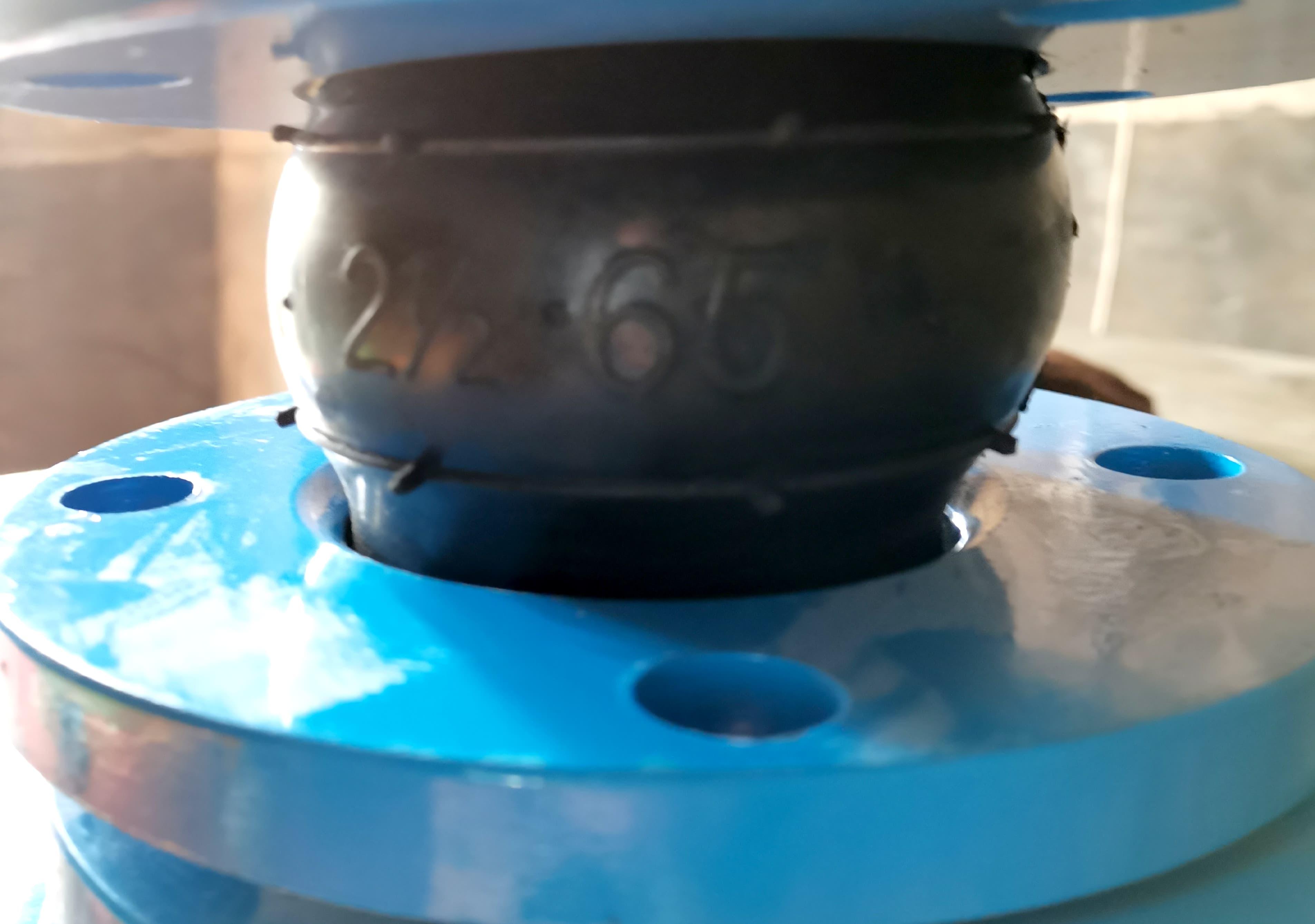 可曲挠橡胶接头煦宸管道、法兰软连接、橡胶挠性接头供应