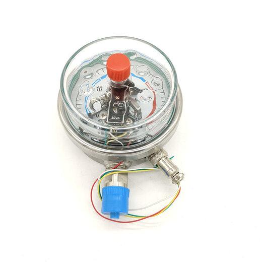 磁助電接點壓力表電接點壓力表氧氣表金嶺廠家生產