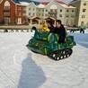 昆明市乐园组合滑道自动摇摆七彩虹旱雪滑道