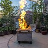 便攜式真火模擬訓練燃燒盤火災培訓真火模擬器
