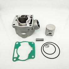 陶瓷汽缸體適用雅馬哈YZ85摩托車發動機汽缸體缸體圖片