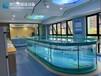 鋼化玻璃兒童泳池戲水池室內大型恒溫泳池價格實惠,親子泳池