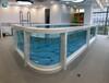 室內恒溫泳池廠家,鋼化玻璃兒童泳池