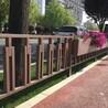 铁艺草坪护栏绿化带市政护栏花坛栅栏铁艺围栏