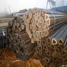 伊犁40×40镀锌扇形管、厚壁三角管供应图片