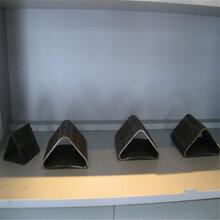 滁州70×70镀锌扇形管、100×100镀锌三角管多少钱图片