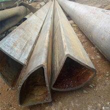 绵阳大口径扇型管、小口径三角管现货供应图片