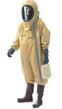 重型防化服,橡膠耐酸堿防護服_三級化學防護服/全密閉重型防護服圖片