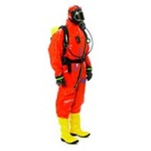 防液體噴濺防護服-連體式化學防護服-試驗室防化服-耐酸堿防護服圖片