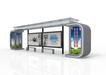 智能候车亭-放舱型-12米、LED发光
