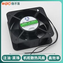 12038小型散熱風扇配電柜排風扇雙滾珠散熱風扇廠家穩不落圖片