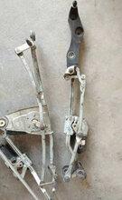 宝马E60E90F02F30雨刮联动杆减震摆臂半轴传动轴轴头羊角前桥方向机球头图片