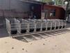 批發陜西母豬定位欄熱鍍鋅管定位欄靖林養豬設備廠家