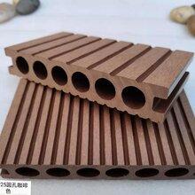 14025圆孔木塑地板图片