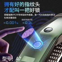 特安智能指纹锁、广东指纹锁厂家、小蛮腰图片