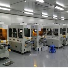 威伍自动干式擦拭机平面光学镜片清洁擦拭覆膜机图片