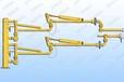 AL2543型鶴管底部裝卸臂萬向節靜電接地鶴管拉斷閥鶴管