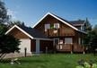 供应200型号营口北美轻型木屋北欧原木房屋
