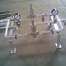 工厂供氧系统用减压阀组气体调压阀组氧气减压阀生产图片