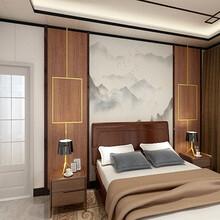 北京竹木纖維集成墻板新型裝飾材料廠家設計圖片