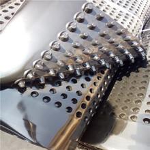 厂家生产塑料导水板辽宁创鸿凹凸板材制作抗压排水板直线售出图片