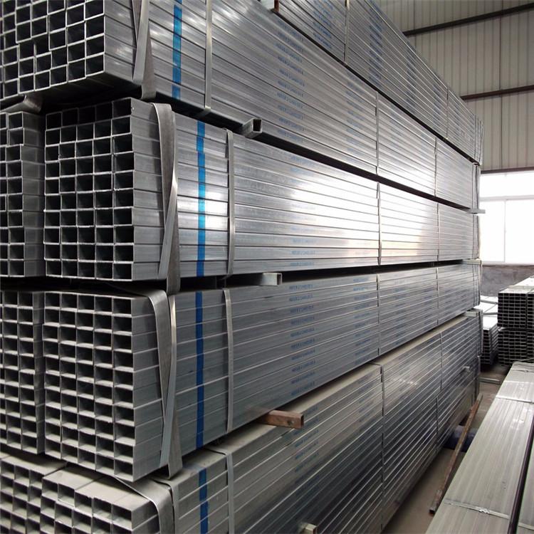 100x120方管 熱鍍鋅方管廠